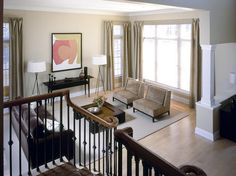 Contemporary Living-areas from Phyllis Harbinger on HGTV