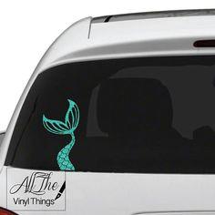 "6/"" Mermaid car vinyl decal great stocking stuffer bumper sticker NEW"