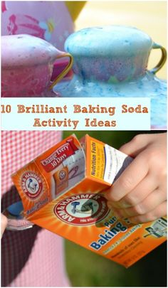 Baking Soda - so much fun! 10 experiments to do with kids