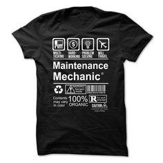 MAINTENANCE MECHANIC T-Shirts, Hoodies. ADD TO CART ==► https://www.sunfrog.com/Faith/Hot-Seller--MAINTENANCE-MECHANIC.html?id=41382