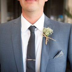 Wedding Flowers by Keren Groom Buttonholes, Groom And Groomsmen, Wedding Flowers, Babies Breath, Wedding Ceremony Flowers, Gypsophila Elegans