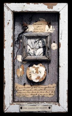 ⌼ Artistic Assemblages ⌼  Mixed Media & Collage Art - Wayne Bertola