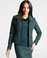 Femme Tweed Jacket - Anne Taylor