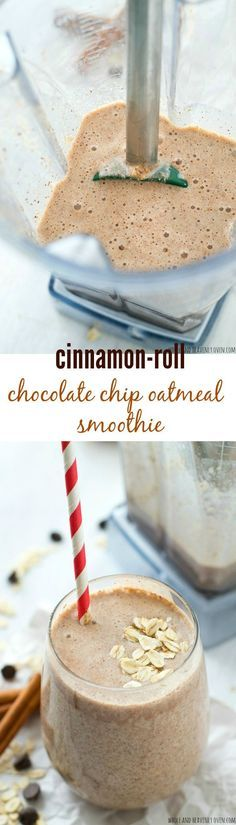 Creamy and loaded with a trio of cinnamon, chocolate, and oats, this filling breakfast smoothie is a sweet breakfast indulgence and terrific…
