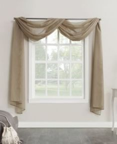 918 Emily Sheer Voile Rod Pocket Window Window Curtain Scarf In Charcoal - This elegant No. 918 Emily Voile Rod Pocket Window Curtain Scarf gently captures light and brings elegant beauty to the windows of any living space. Custom Drapes, Home, Curtains Bedroom, Voile Curtains, Bathroom Windows, Curtains, Window Design, Bathroom Window Curtains, Shabby Chic Bathroom