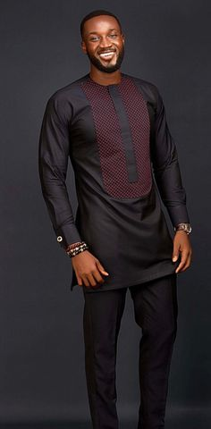 African men's clothing / wedding suit/dashiki / African men's shirt/ vêtement africain/ chemise et pantalon/African attire/prom dress - African men's clothing / wedding suit/dashiki / African African Male Suits, African Shirts For Men, African Dresses Men, African Attire For Men, African Clothing For Men, African Wear, African Men Style, Traditional African Clothing, Nigerian Clothing