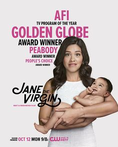 Gina Rodriguez:    Best Performance by an Actress in a Television Series ‐ Musical or Comedy.  -     Jane the Virgin (TV Series 2014– ) - COMEDY