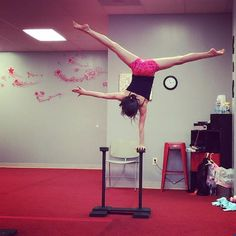 One of my favorite things to do with Miss Carrie at dance. I want one at home. #balance