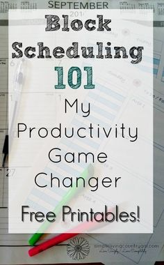 to use block scheduling to change your life! Pin for later! Learn how to time block your schedule and…Free Printables! Pin for later! Learn how to time block your schedule and… Printable Planner, Free Printables, Block Scheduling, Time Management Strategies, Planner Organization, Planning And Organizing, Organizing Life, Business Organization, Getting Things Done