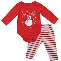 ba6f3bead Baby Boys Girls Chri Boys Christmas Outfits, Winter Outfits For Girls, Baby  Boy Outfits