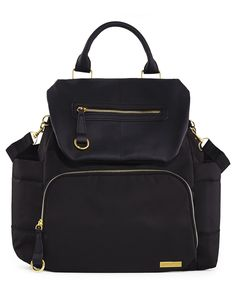 a7cd9dc0894 Chelsea Downtown Chic Diaper Backpack   Skiphop.com Combining effortless  city style with hands-