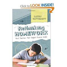 Rethinking Homework: Best Practices That Support - Amazon com