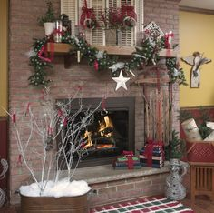 Easy Holiday Decorations For The Cabin