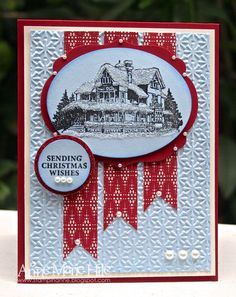 Stampin' Anne: Christmas Lodge for Paper Players #114