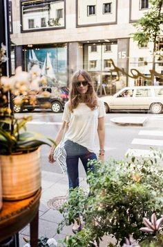 caroline blomst | tee & jeans
