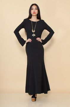 Zenith Maxi - Black by FOR LOVE AND LEMONS $64