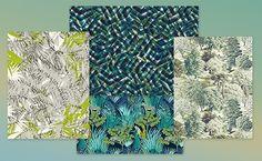 Pour ajouter une touche jungle à vos intérieur, voici une sélection de papiers peints aux motifs tropicaux