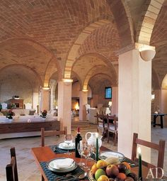 It may take a lot of work but I want arches like this in my basement.