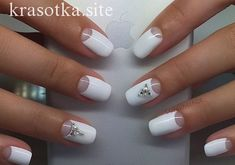 Top Nail Art Designs und Ideen 2017 Nail art designs tend to look good when done with precision. If you need to do any design yourself, then opt for simple nail art and go to the salon for complex themes. With the different types of nail designs available Nail Art Design Gallery, Best Nail Art Designs, Winter Nail Designs, White Nail Art, White Nails, Different Types Of Nails, Bridal Nails, Wedding Nails, Wedding Makeup