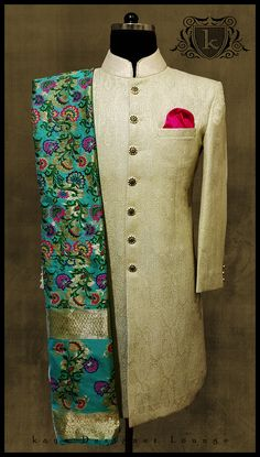Traditional Wear Jacket Traditional Jacket Jodhpuri Bandhgala Jodhpuri Suit Ethnic Ethnic Jacket Pocket Square Mensfashion Designerwear Designermenswear Designermade Bandhgalas Indowestern Mensstyle Sherwani Banarsi Dupatta Sole Dapper Weddingwear Bespoke Custommade Suits Tailormade Handmade Classy Indianmenswear Festivelook Groomwear Latestdesign Designerwear Fall 2017-18 kaya Designer Lounge kayadesignerlounge kdl Lifestyle kdllifestyle Wedding Dress Men, Indian Wedding Outfits, Wedding Suits, Indian Outfits, Sherwani Groom, Mens Sherwani, Wedding Sherwani, Mens Traditional Wear, Traditional Jacket