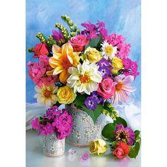 5D Bright Flowers