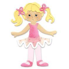 Sizzix Originals Die - Dress Ups Ballerina Costume $15.99