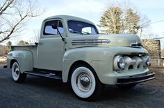 1951 Ford F1 5 Star Deluxe Cab Maintenance/restoration of old/vintage vehicles: the material for new cogs/casters/gears/pads could be cast polyamide which I (Cast polyamide) can produce. My contact: tatjana.alic@windowslive.com