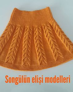 Items similar to Knit Baby Skirt in Pink, Toddler Girl Baby Skirt, Usa Seller, Custom Order for other colors And Size on Etsy - Her Crochet Knitting For Kids, Baby Knitting Patterns, Lace Knitting, Crochet Lace, Pullover Design, Sweater Design, Dress Designs For Girls, Knit Baby Dress, Baby Skirt