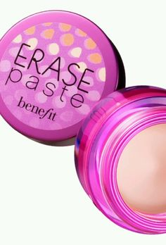 Benefit erase paste - My new beauty secret for dark under eye circles. Layered with a lighter shade of  NYX Above and Beyond Full Coverage then set with powder and Ta~da! A little goes a lonnnnnng way. Worth the price, can purchase at Ulta. I think I'm really going to like it.