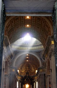 St. Peter's Church, Vatican, Rome, Italy.