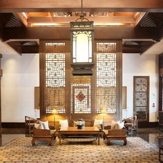 We checked-in to the Aman at the Summer Palace hotel (photo is from the lovely Lobby). The hotel is essentially part of the Summer Palace grounds just a few steps from the East Gate. Aman even has its own backdoor to the palace grounds!  Photo  TravelPlusStyle.com  #China #Beijing #Aman #traveling #trip #travelblog #travelphoto #AmanSummerPalace #AmanBeijing #traveltheworld #traveler #interior #interiordesign  #travelphotography #travelblogger #nikon #luxuryhotel #luxurytravel #wanderlust…