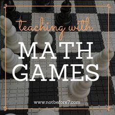 Math Games - Adding Enchantment to Math