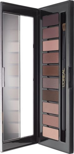I haven't personally found them in stores but the L'Oreal Color Riche La Palette Nude 1 and L'Oreal Color Riche La Palette Nude 2 Eyeshadow Palettes have l