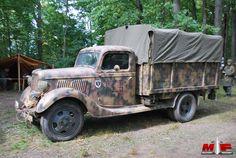 Opel Blitz WWII German truck.