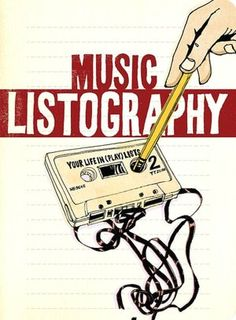 Music Listography Journal: Your life in playlists ($11.86)