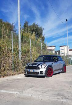 #mini #cooper #jcw #jr21 #red #racing #japan #tuning