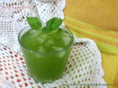 MINTY MAGIC DRINK! Summer cooler! a great appetiser during snacks or before a meal. For detailed recipe plz visit the link:- http://coloursofcooking.blogspot.in/2014/05/minty-magic-mint-lemonade.html