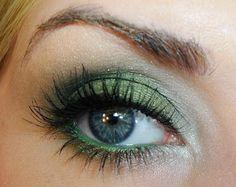 pretty emerald eyeshadow :)