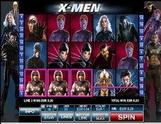 Automatová výherná hra X-Men - Zahrajte si automatovú výhernú hru X-men zadarmo, ktorý ponúka 25 výherných línií na piatich valcoch a bonusové symboly. Prvým bonusovým symbolom je Wild, ktorý nahradí akýkoľvek symbol, tak aby vznikli výherné kombinácie. #HracieAutomaty #VyherneAutomaty #Jackpot #Vyhra #XMen - http://www.hracie-automaty.co/sloty/automatova-vyherna-hra-x-men