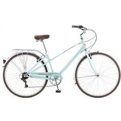 SCHWINN RETRO BIKE 700C WOMEN'S HYBRID BICYCLE SHIMANO CITY CRUISER COMMUTER NEW #Schwinn