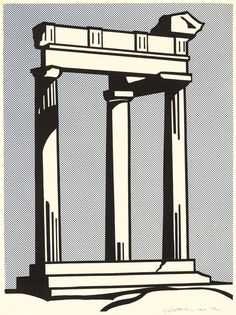 Roy Lichtenstein - Temple, 1964