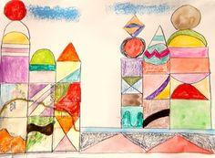 Art Lesson Paul Klee Grade Castle and Sun History Biography Common Core - Vilhelmina Pycock Drawing Lessons, Art Lessons, Joy Art, Paul Klee, Popular Books, Common Core Standards, Colorful Pictures, Love Book, Contemporary Art