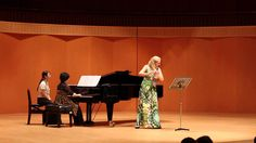 Eldin Burton, Sonatine für Flöte und Klavier, Andantino sognando