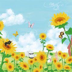 해바라기 꽃밭/옐로우