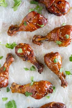 Practically dump and cook, these Slow Cooker Sweet Chili Chicken Drumsticks are full of Asian flavor and the slow cooker makes them easy as can be.