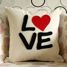 Resultado de imagen para almohadas decoradas para San Valentín | Pillow | Home Decor | #ad