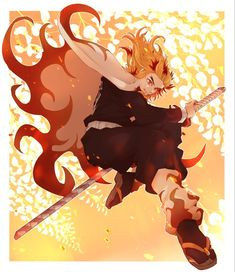 Anime Demon Slayer Kimetsu No Yaiba Kyojuro Rengoku Hd Wallpaper 002 2 Manga Anime, Anime Demon, Anime Art, Demon Slayer, Slayer Anime, Demon Hunter, Estilo Anime, Character Design, Animation