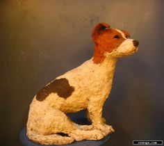 walda   :: Jack R. :: Jack Russell made in clay and fired at 1040 *