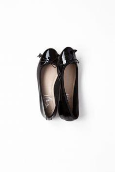 Kyoko Kikuchi's Closet   ミラノで見つけた靴屋のバレエパンプス