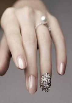 Wedding Manicure /  Bride Nails  (www.neonail.pl; www.facebook.com/NeoNailPL)